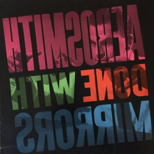 Aerosmith - Done With Mirrors (LP) (EX/G++)